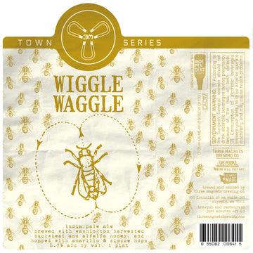 Wiggle Waggle IPA -  4-Pack, 16oz. Cans
