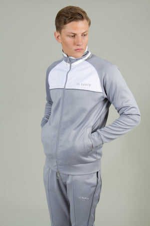 Alessandro Track Top- Grey