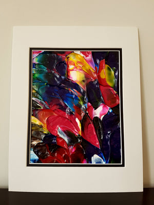 Floral Garden Abstract Painting