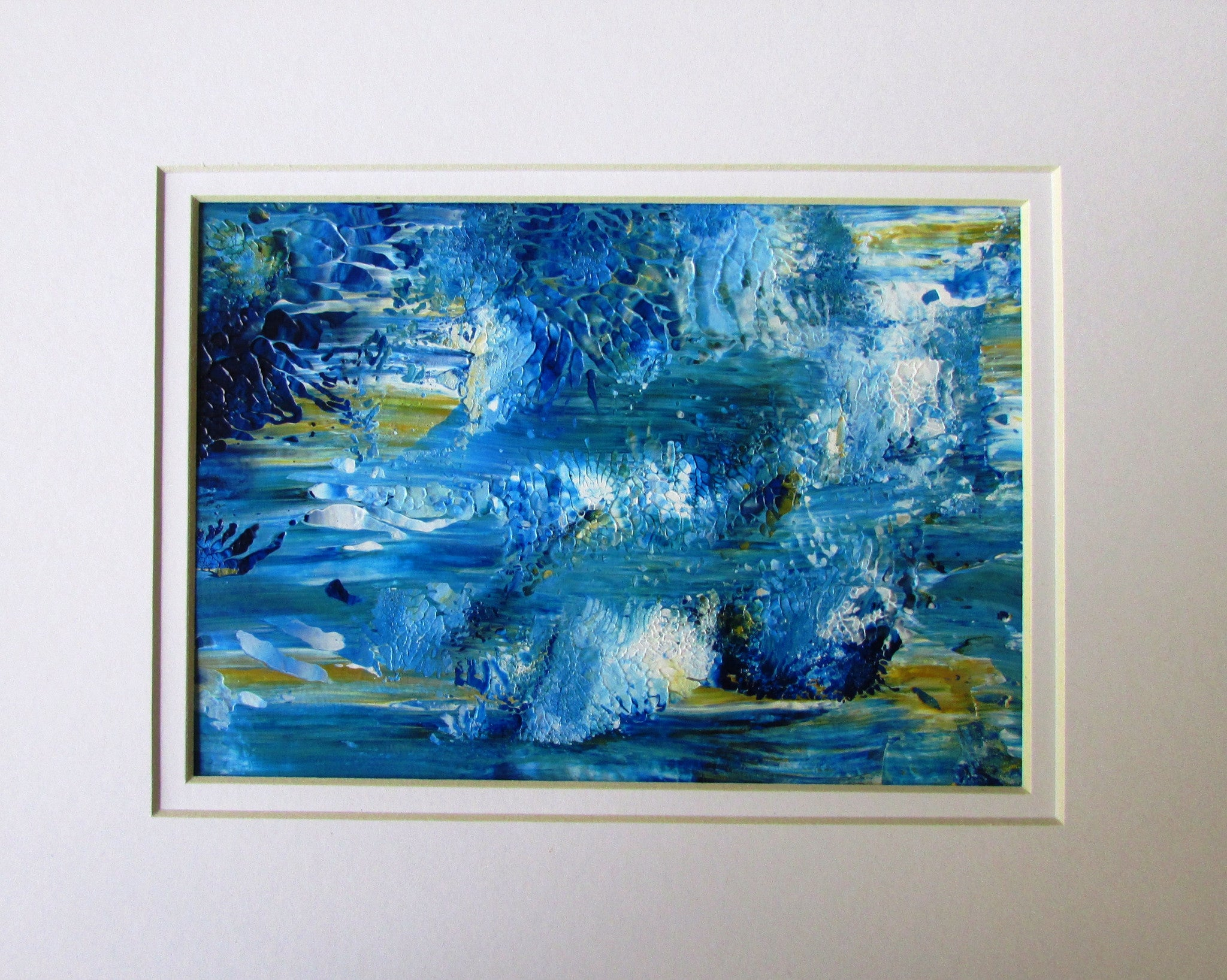 River of Haiku Abstract Acrylic Painting