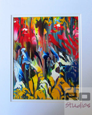 Abstract in Nature an Original Abstract Acrylic Painting