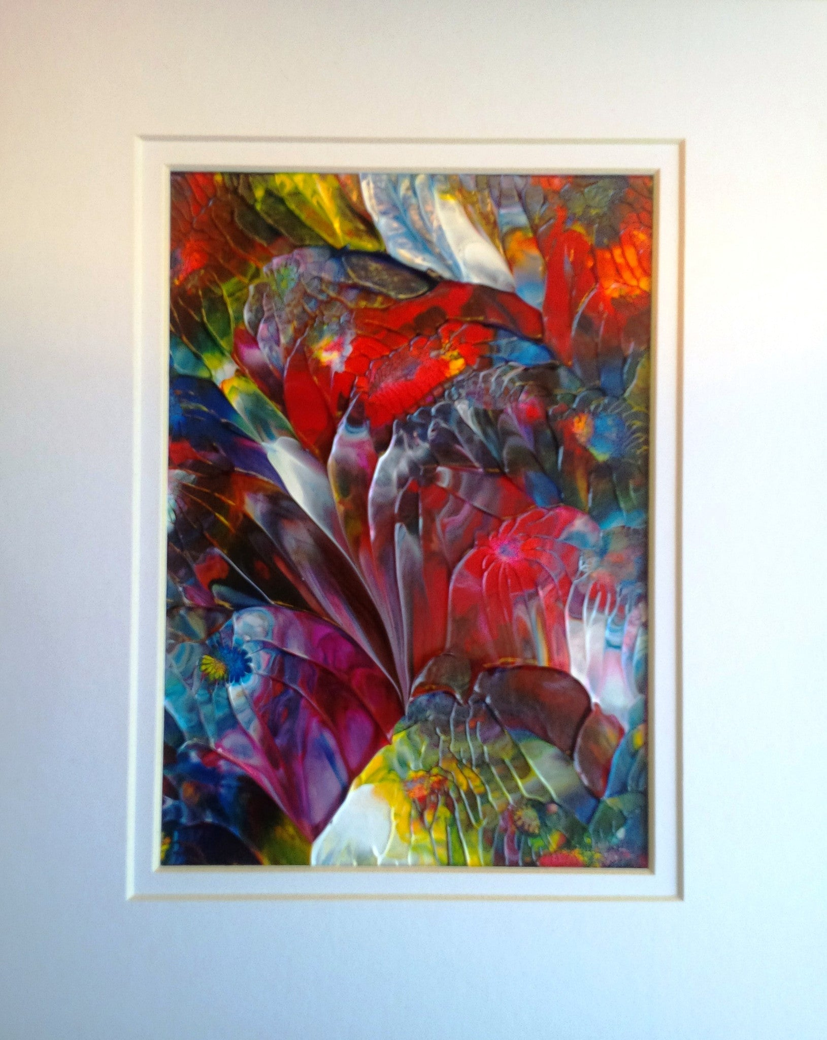 Spiritual Garden Abstract Acrylic Painting