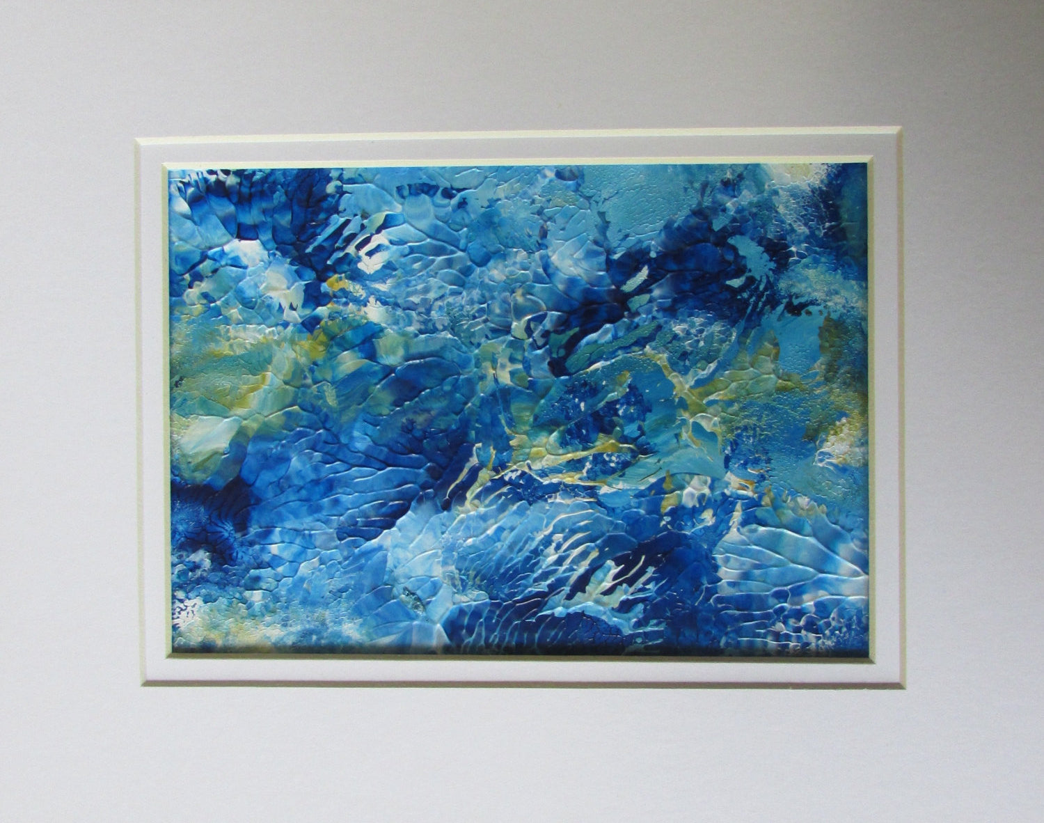 Raging Sea Abstract Painting