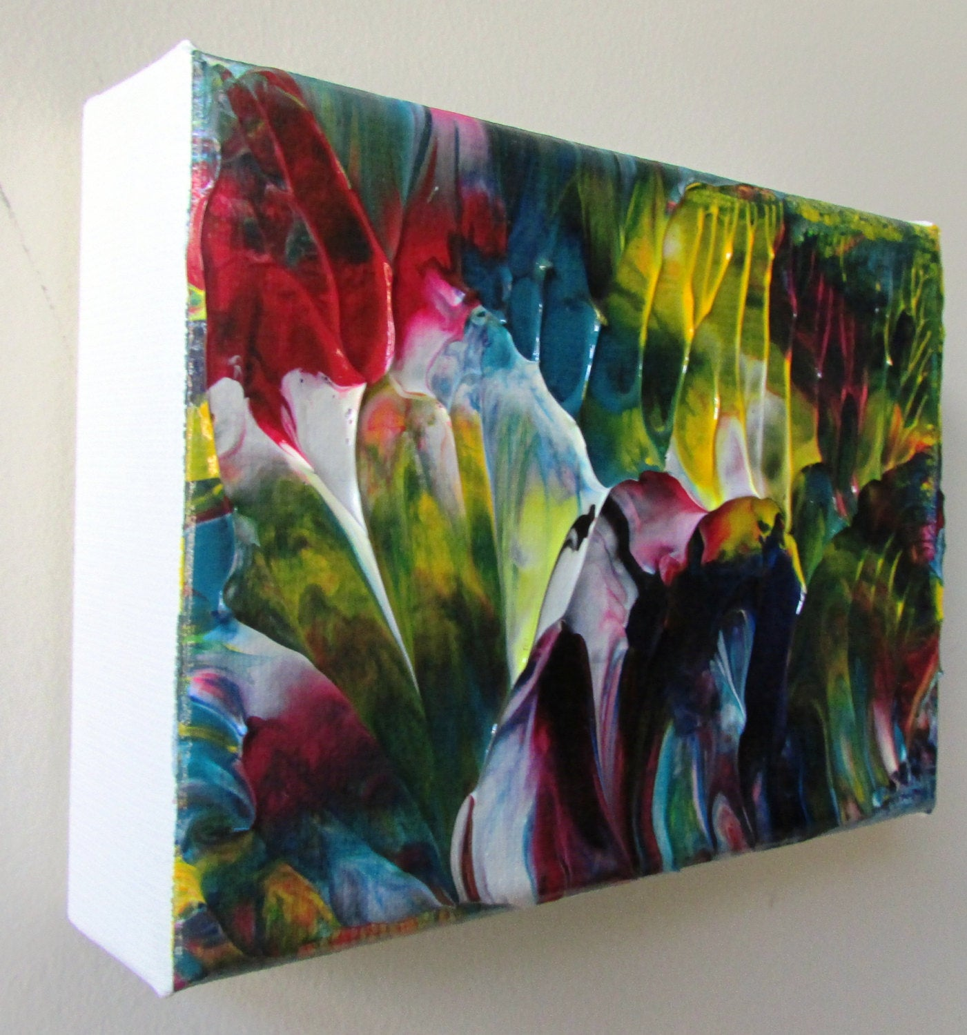Kaleidoscope  Acrylic Original Abstract Canvas by Ryan O'Neill