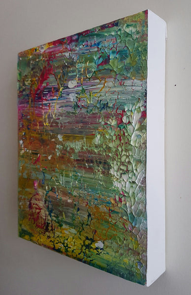 Japanese Garden Acrylic Original Abstract Canvas