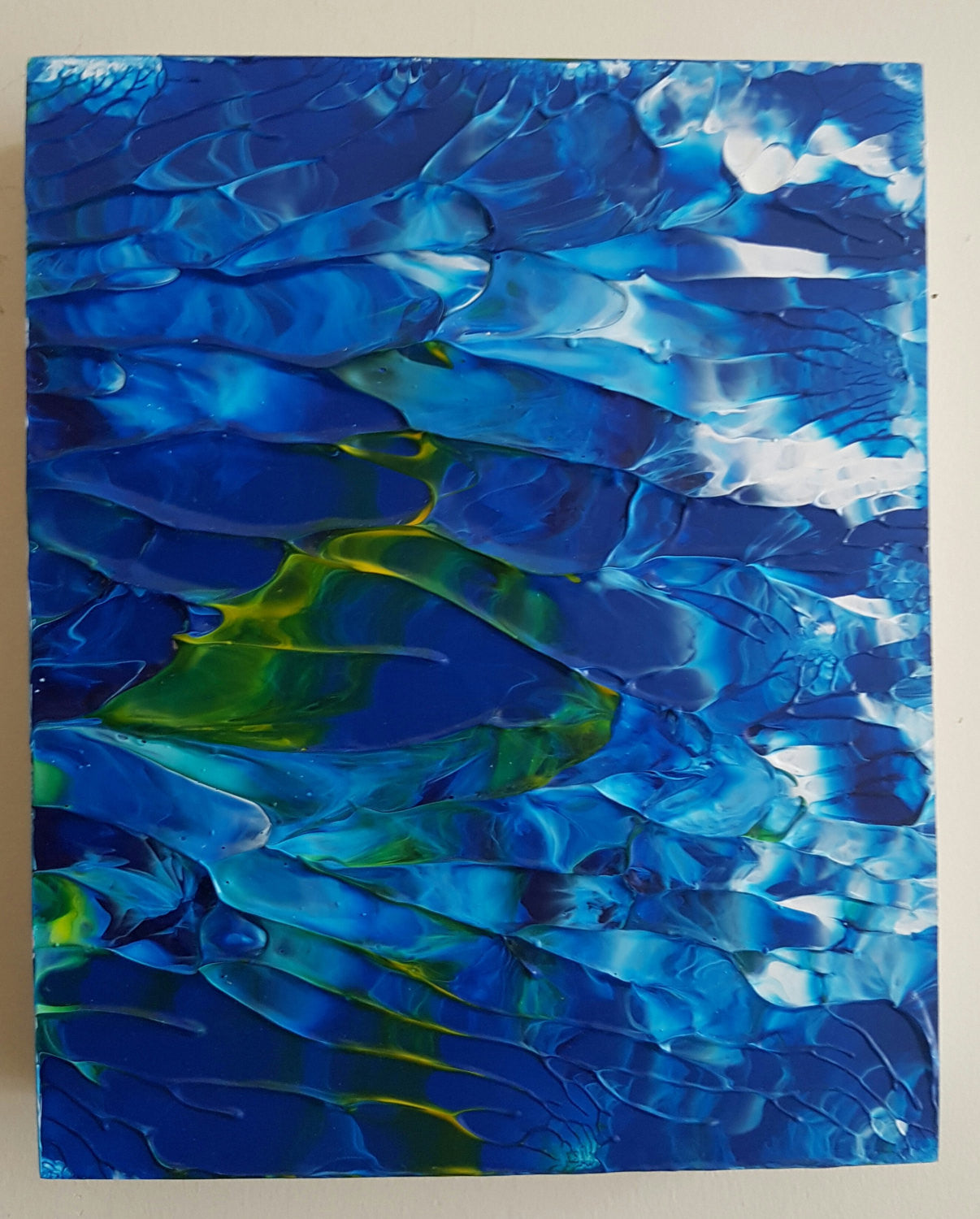 Deep Sea Abstract Acrylic Original Painting