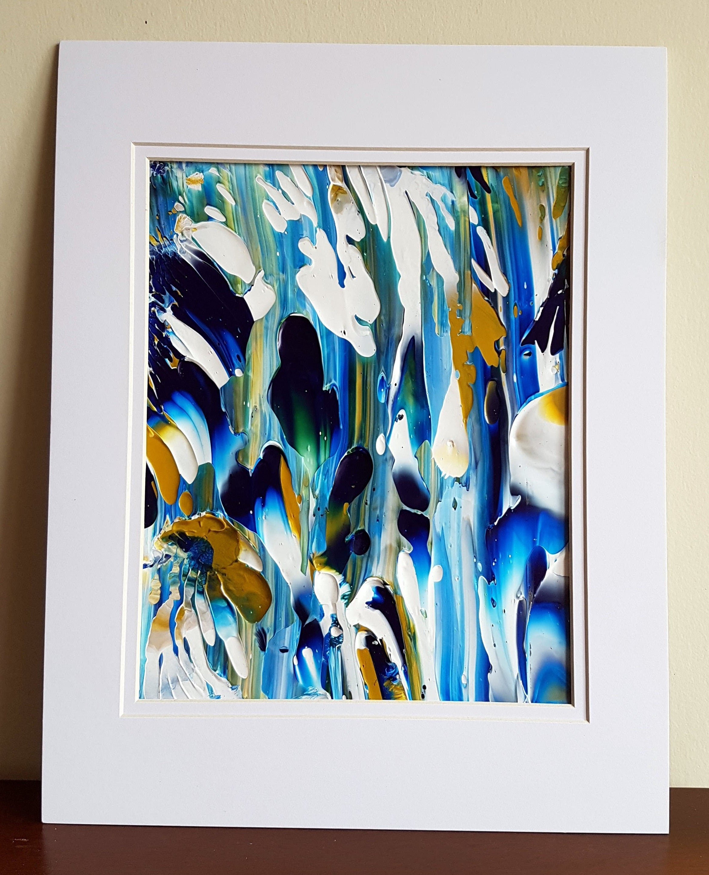 Special Order for Amanda - Sea Life Abstract Acrylic Painting