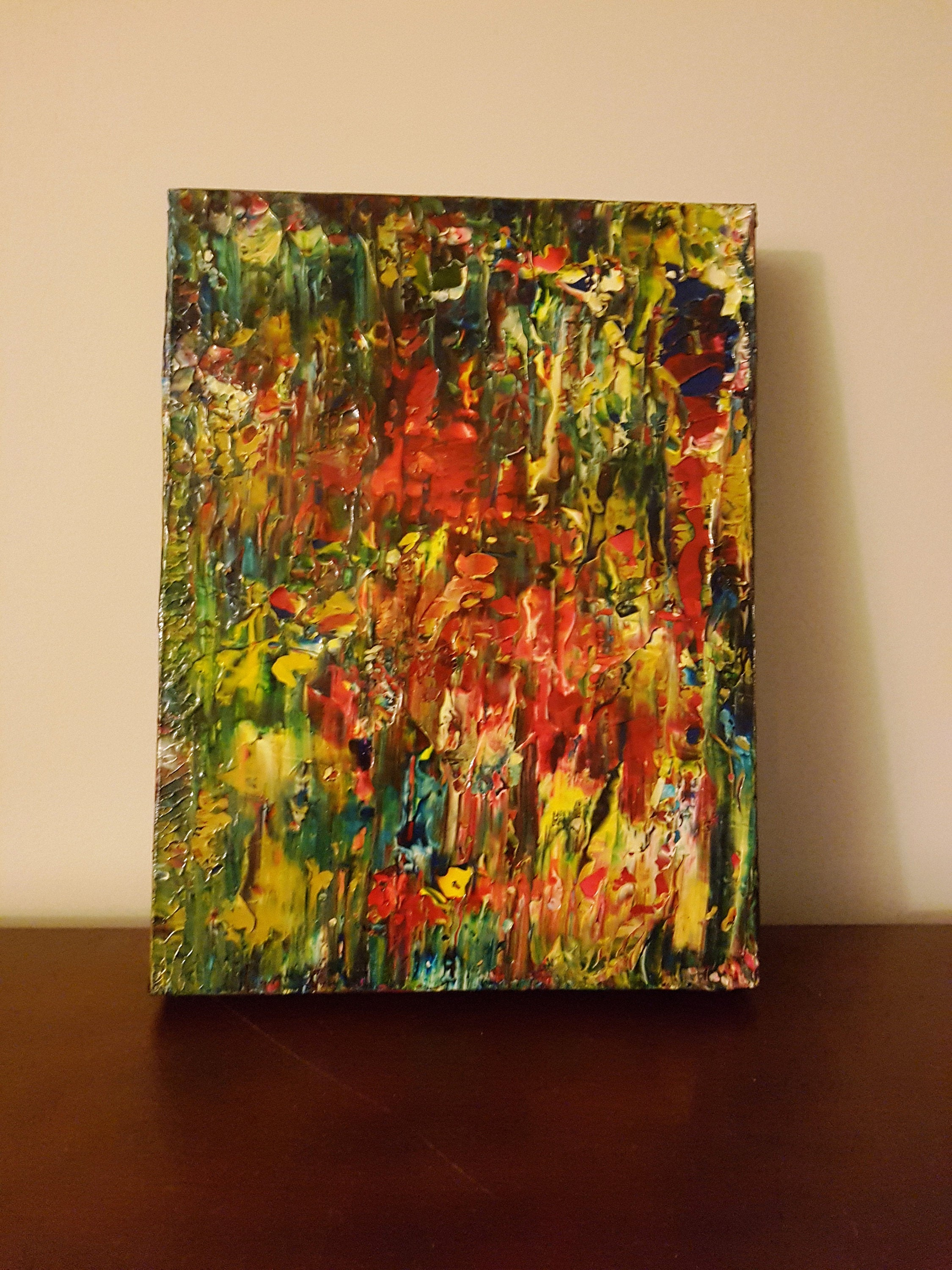 Wilderness Abstract Acrylic Canvas