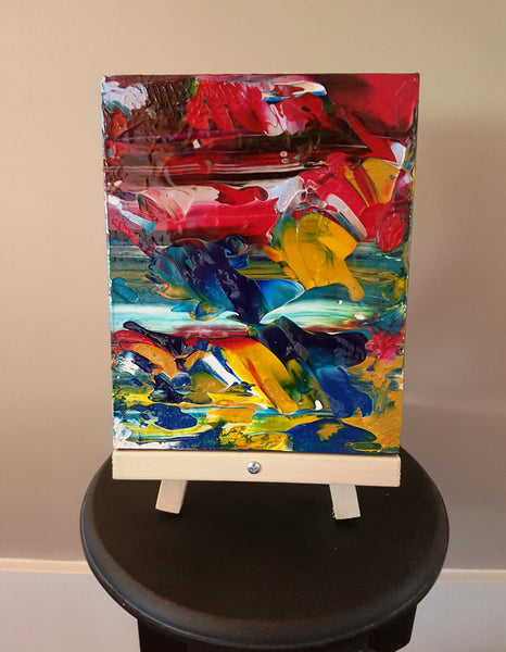Fish out of Water Original Canvas Painting