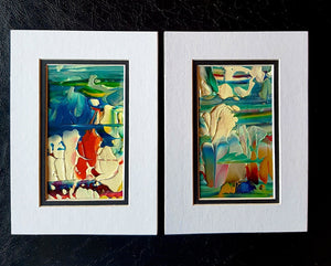 Abstract in Nature Twin Mini Painting Set