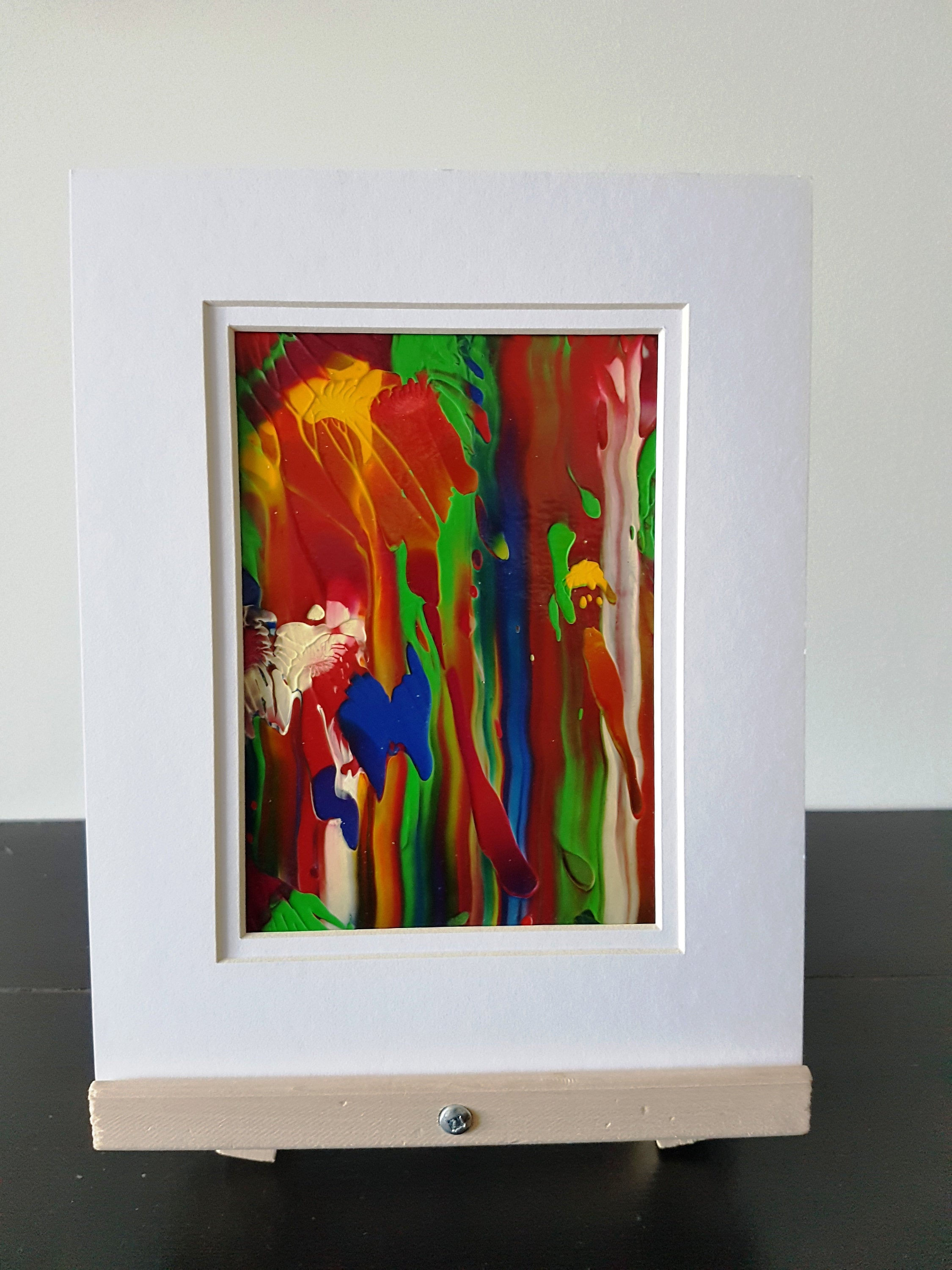 Abstract View Original Acrylic Abstract Painting
