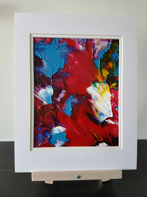 Floral Gift Abstract Original Painting