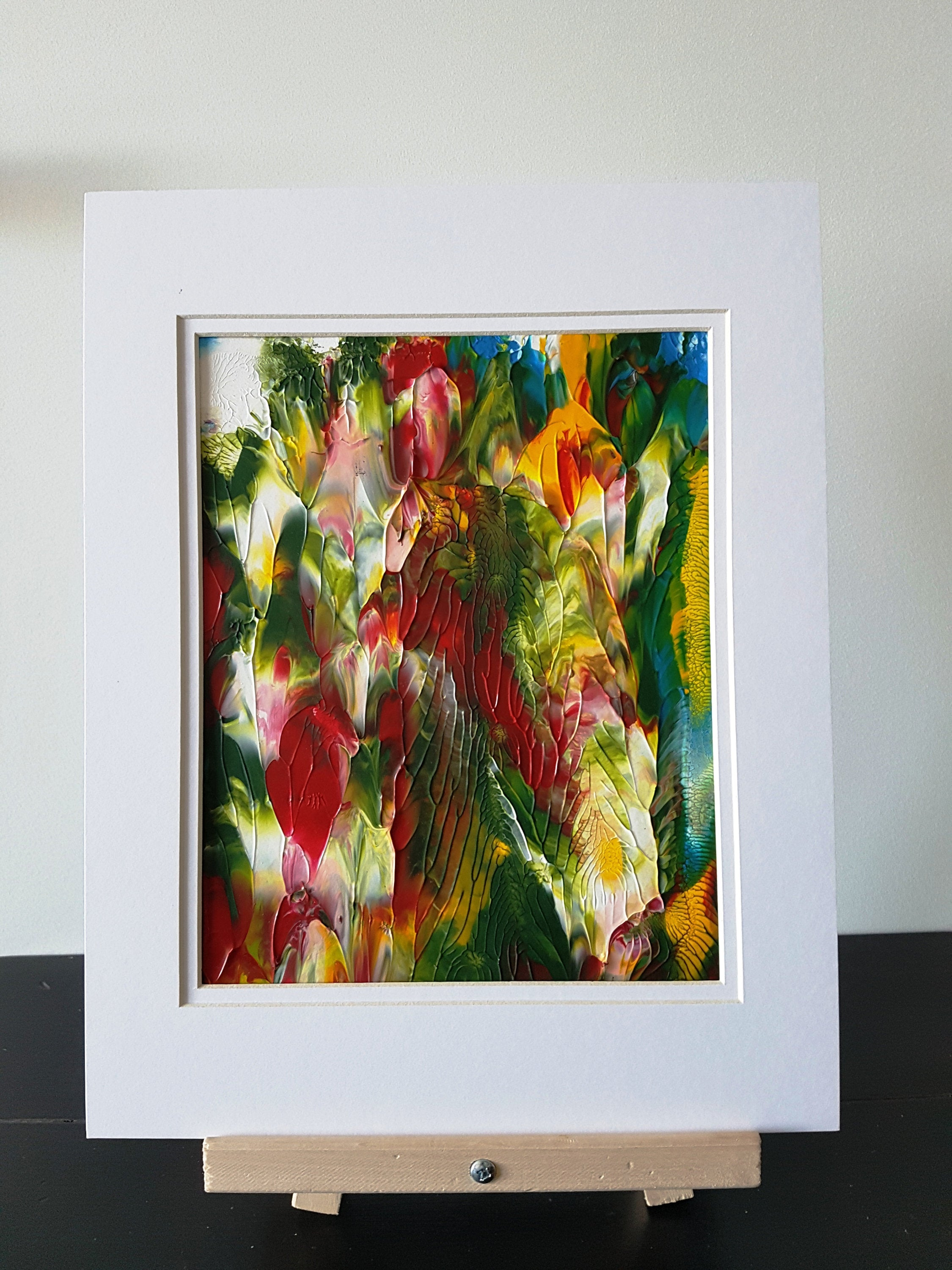 Evergreen Abstract Acrylic Painting