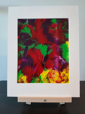 Sunny Booms Acrylic Abstract Original Painting