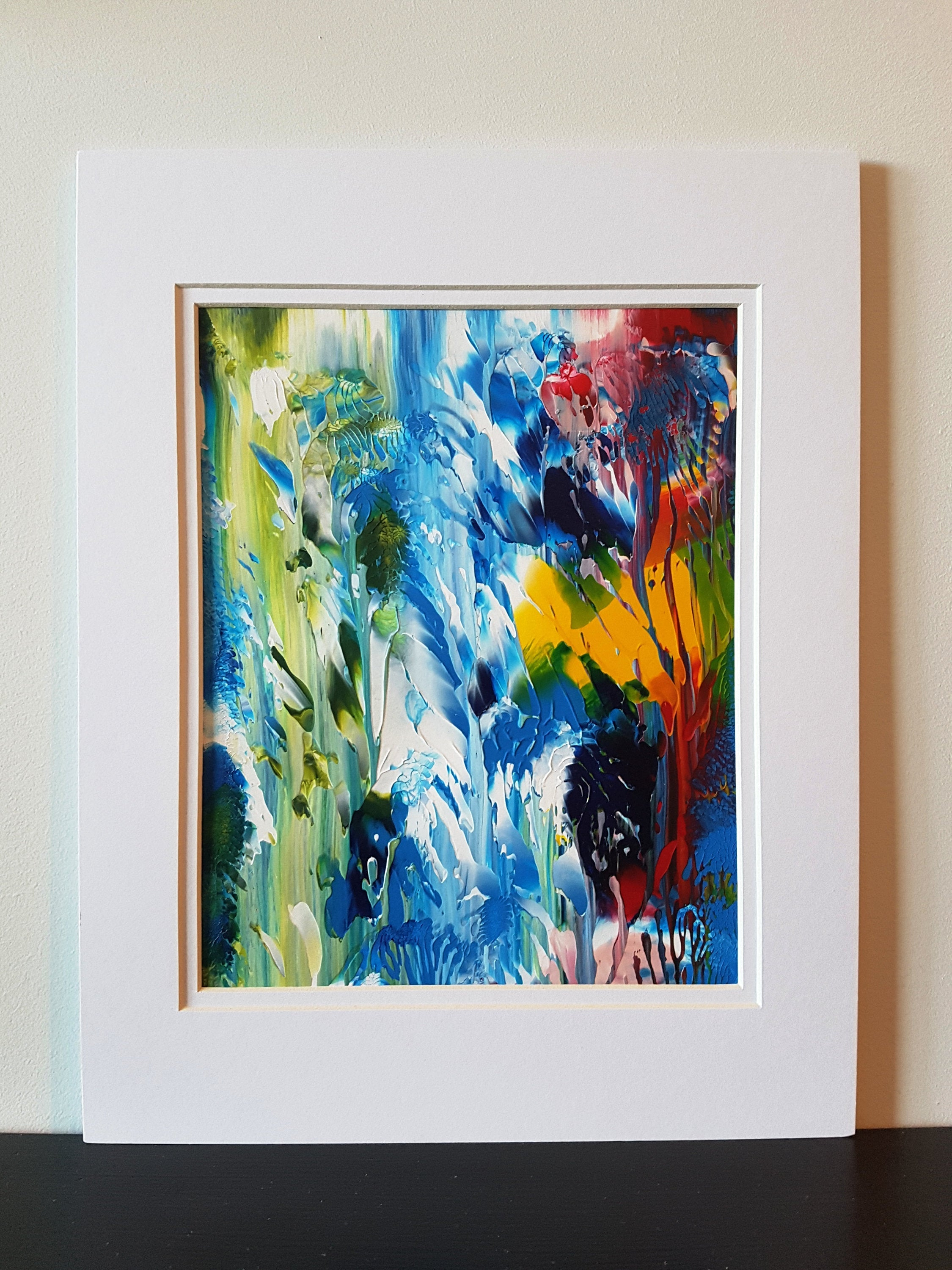 Spirit Nature Acrylic Original Abstract Painting