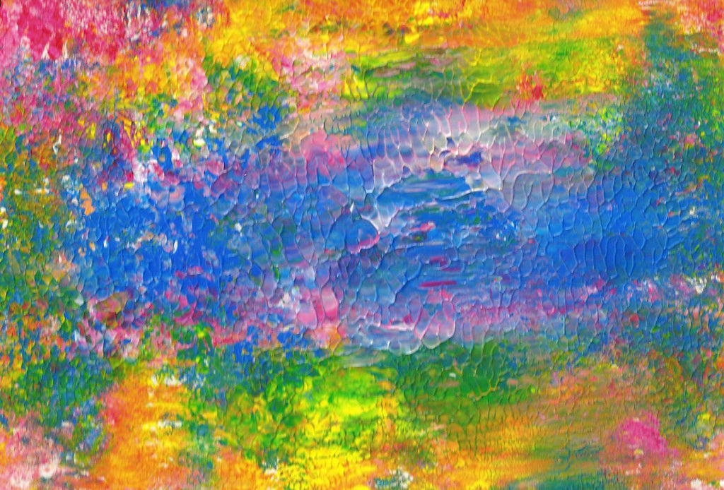 Original Acrylic Abstract Sunny View Painting