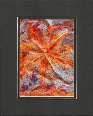 Abstract Sun Abstract Acrylic Original Painting