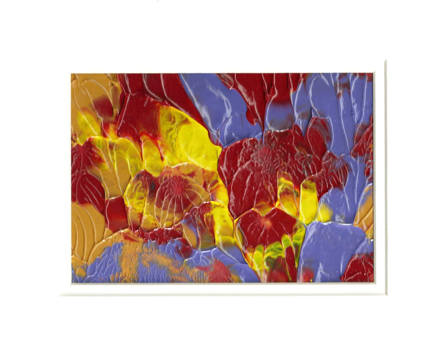 Hibiscus  Abstract Original Painting