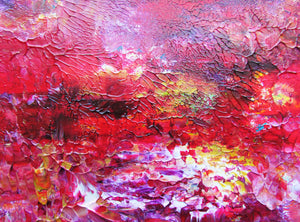 Sensual Garden Abstract Original Painting.