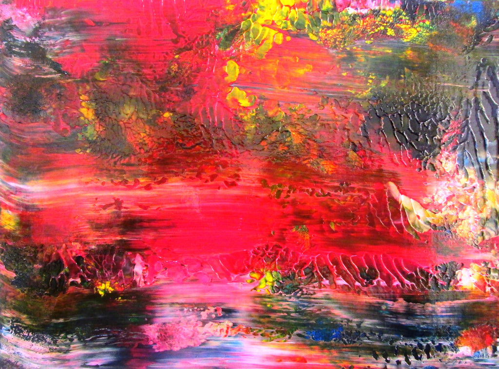 Serenity View Original Abstract Acrylic Painting by Ryan O'Neill