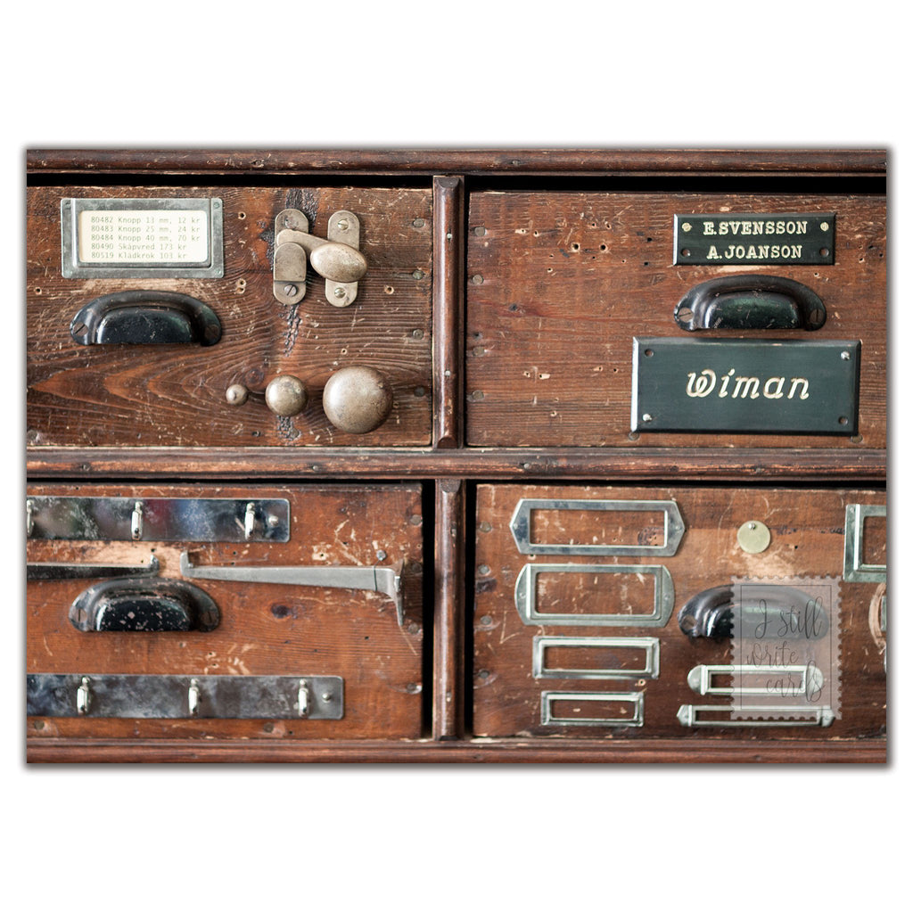 Grandfather's drawers