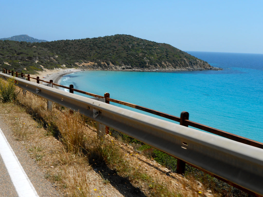 Ocean Highway In Sardinia