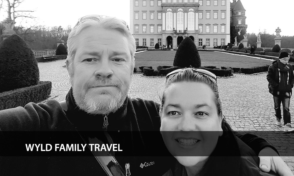 Mark and Bec of Wyld Family Travel