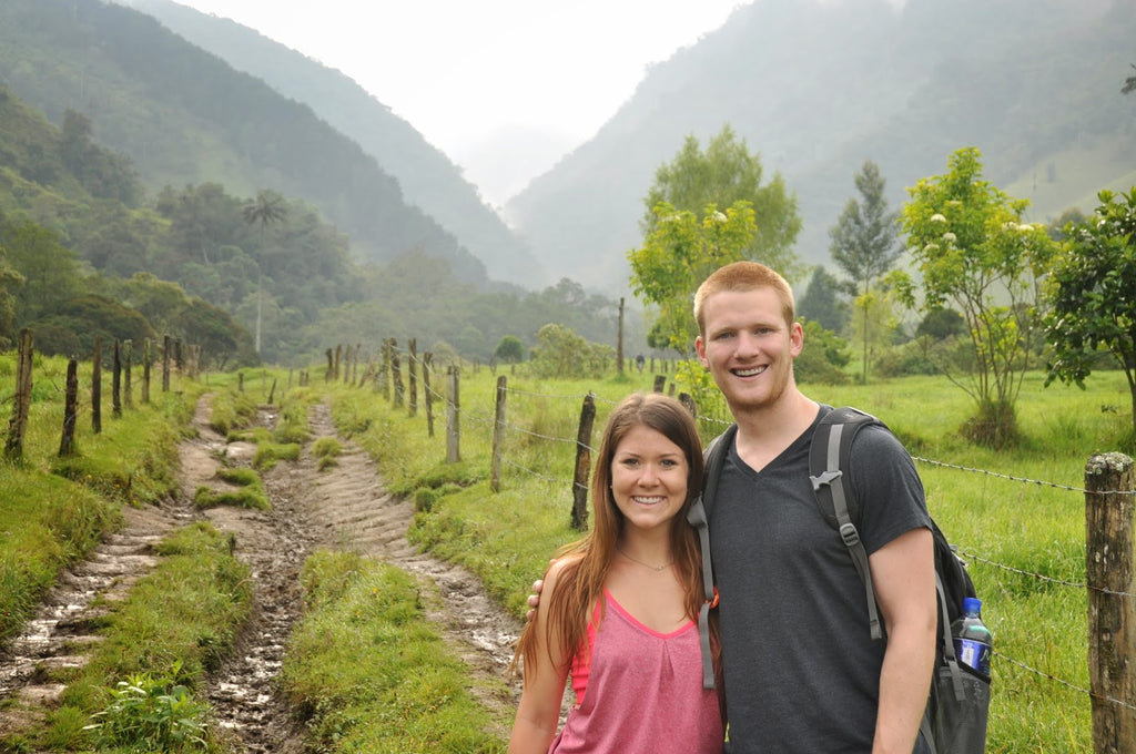Hiking in Valle de Cocora