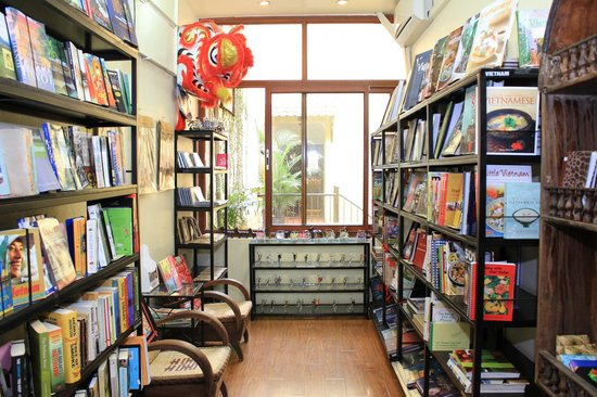 Hanoi Must See - The Bookworm Bookstore