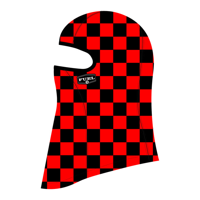 Head Sock - Checkered Red