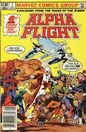 Alpha Flight  #1 (Volume 1)
