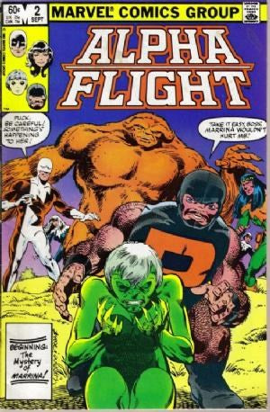 Alpha Flight  #2 (Volume 1)