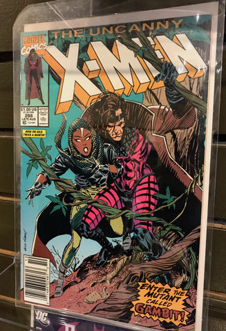 First appearance of Gambit, The Uncanny X-Men #266
