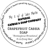 Grapefruit Cassia Soap