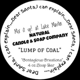 Lump of Coal Black Soap