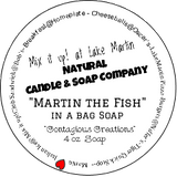 """Martin the Fish"" in a bag Soap"