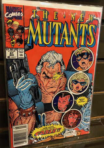 First appearance of Cable! New Mutants #87