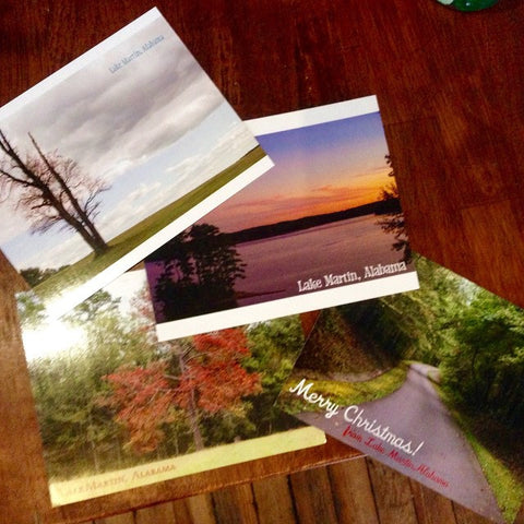 Lake Martin Postcards (Pack of 4)