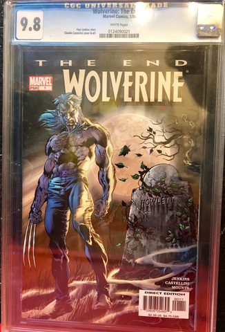 Wolverine The End #1 -- CGC Graded 9.8