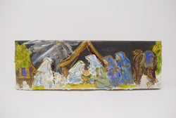 Wisemen Nativity Canvas