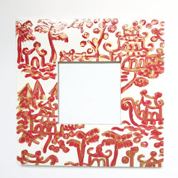 Red Pagoda Frame