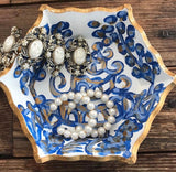 Royal Blue Pagoda Trinket Tray