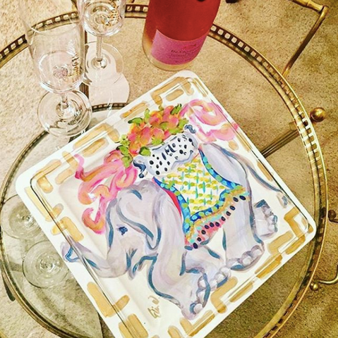 Elephant Tray Set