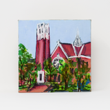 Custom Collegiate Art Mini- University of Florida