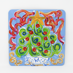 Christmas Tree Tray