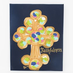 Faithfulness Cross Canvas