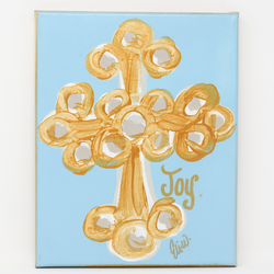 Joy Cross Canvas
