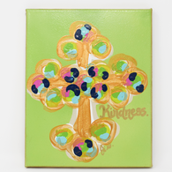 Kindness Cross Canvas
