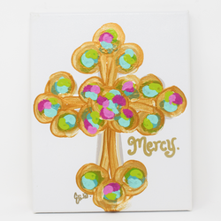 Mercy Cross Canvas