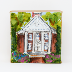 Custom Collegiate Art Mini- Meredith Chapel